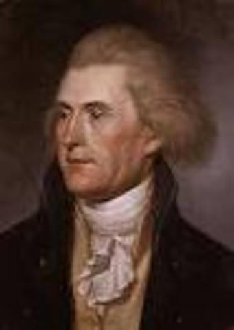 Thomas Jefferson takes office as POTUS