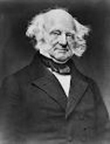 Martin Van Buren takes office as POTUS