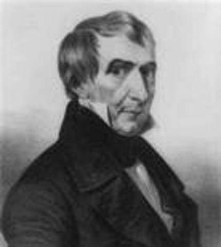 William Henry Harrison takes office as POTUS