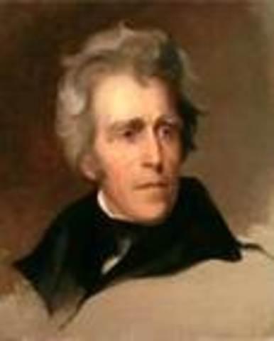 Andrew Jackson takes office as POTUS