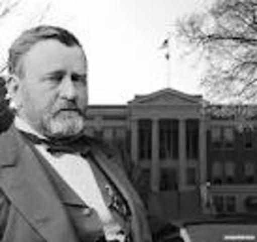 Ulysses Simpson Grant takes office as POTUS