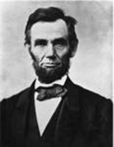 Abraham Lincoln takes office as POTUS