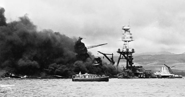 Pearl Harbor Attacked