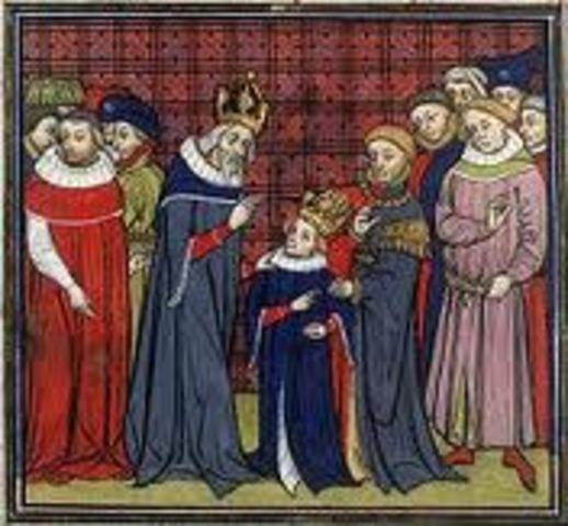 Charles dies, Kingdom falls apart