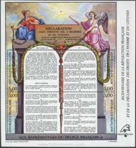 La Declaracion de los Derechos del Hombre y del Ciudadano