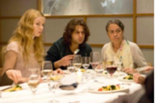 Essen mit Nadine's Familie