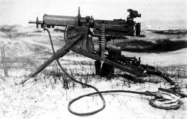 weapons of world war one for the united states