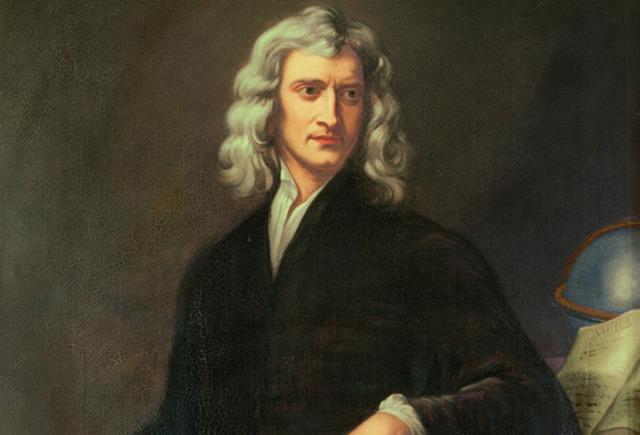Sir Isaac Newton writes Philosophiæ Naturalis Principia Mathematica