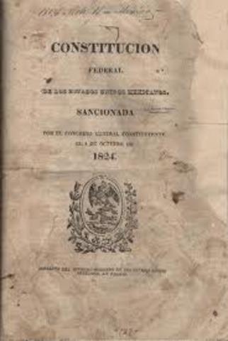 Constitucion Federal de los Estados unidos de Mexico