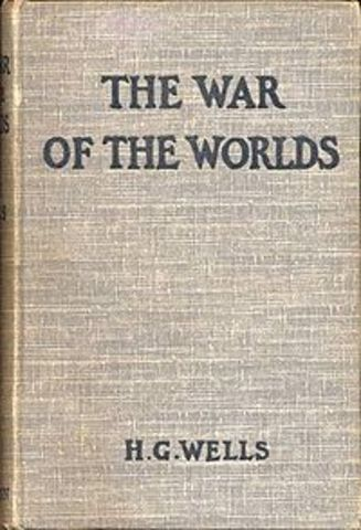 H. G. Wells writes The War of the Worlds