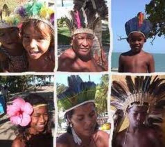 Ataque violento de los pueblos Nativos