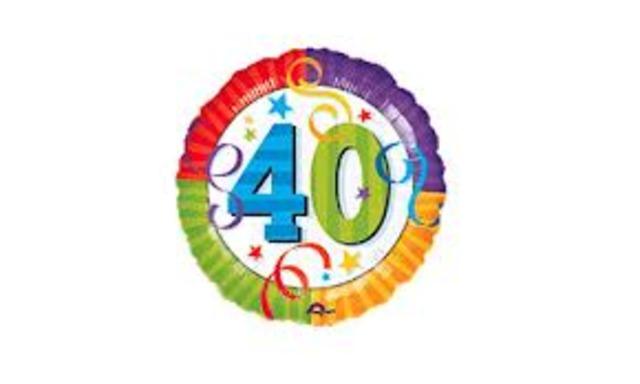 Nicole's 40th birthday