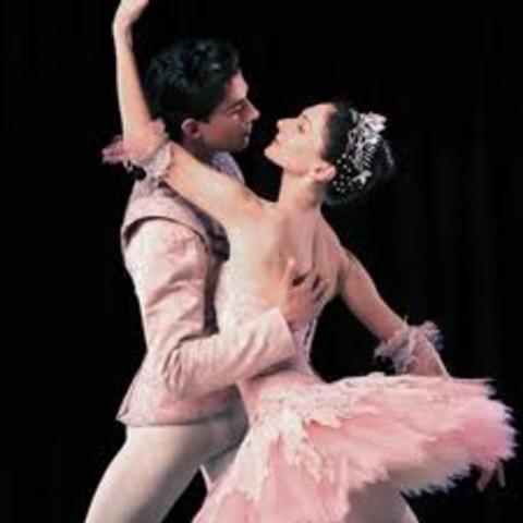 Nicole started ballet