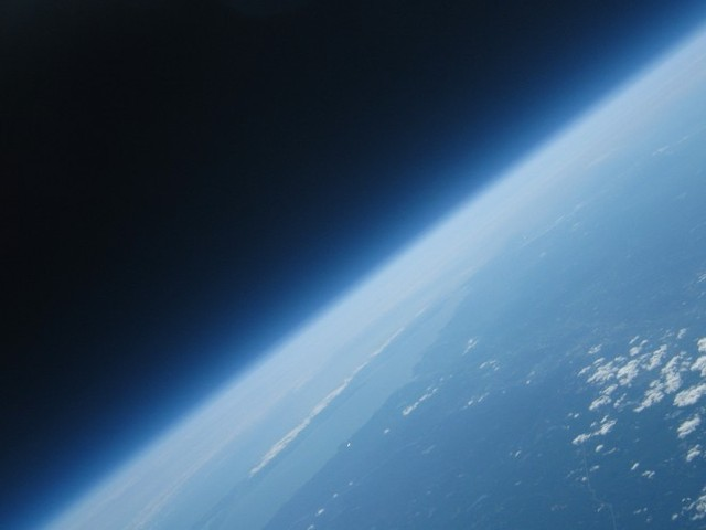 V-2 rocket reaches 62 miles from the Earth's surface
