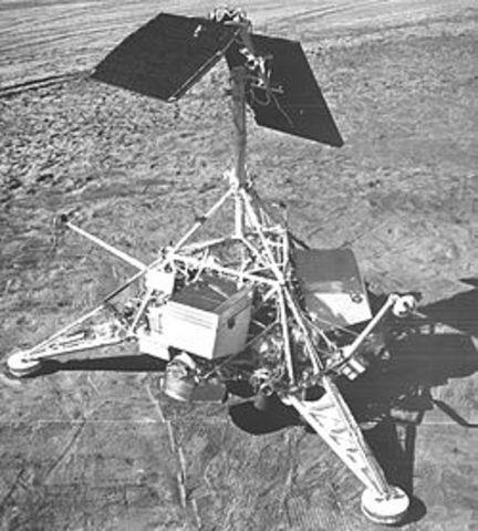 First U.S. soft landing on Moon
