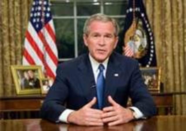 President Bush debates