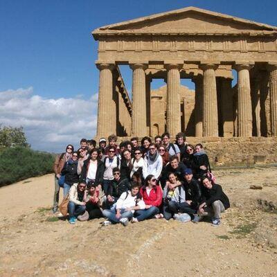 Gita in Sicilia 2012 timeline
