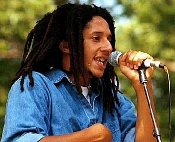 5th son Julian Marley