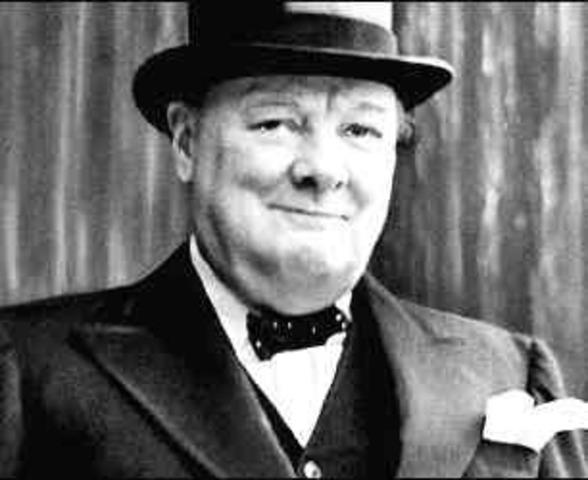 Winston Churchill becomes Prime Minister of UK
