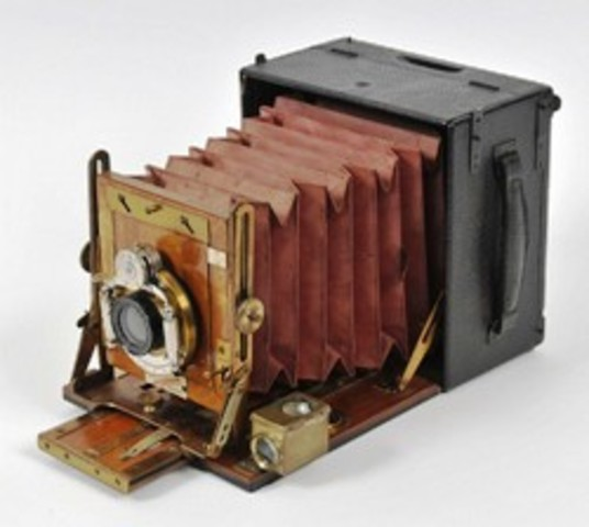 The first camera was built in 4th -5th centuries B.C