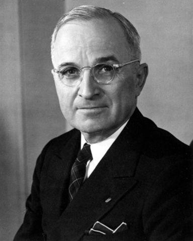 Truman becomes Pesident of USA