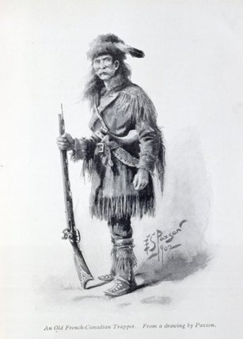 French trappers Trade with Spanish