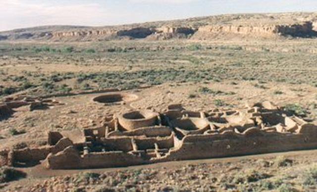 Chaco Canyon Abandoned-