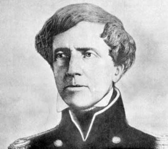 Mexican-American War begins. Stephen Watts Kearny annexes New Mexico to the United States.
