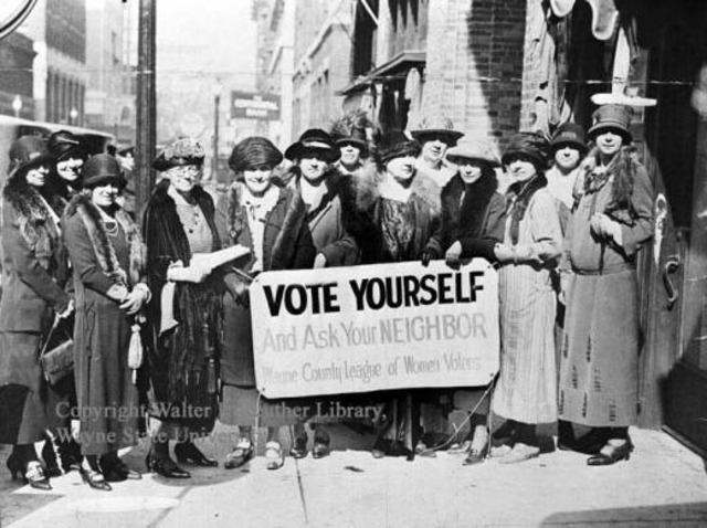New Mexico becomes one of the last states to ratify the 19th Amendment to the U. S. Constitution, giving women voting rights