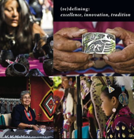 Indian Market show in Santa Fe is held as Southwest Indian Fair.