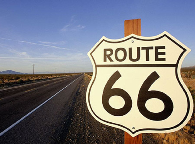 Route 66,  is designated as Chicago-to-Los Angeles route, and it goes through Santa Fe