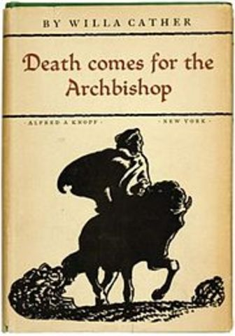Death Comes to the Archbishop is published.