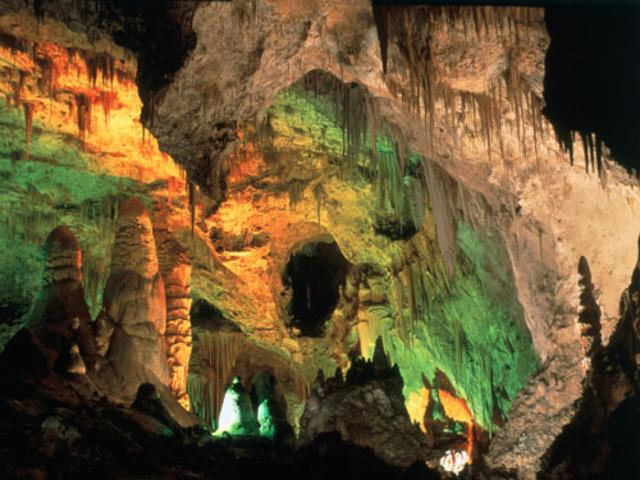 Carlsbad Caverns made National Park