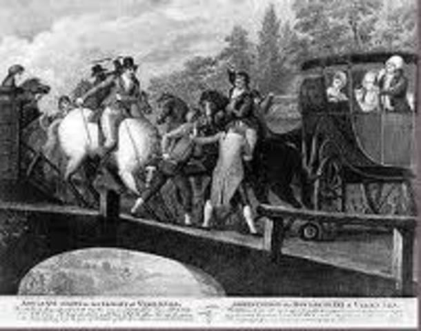 Louis XVI Flees France