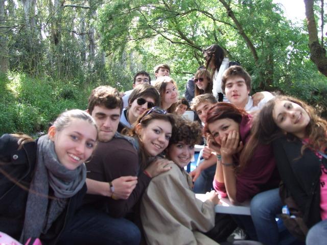 Gita sul fiume Ciane