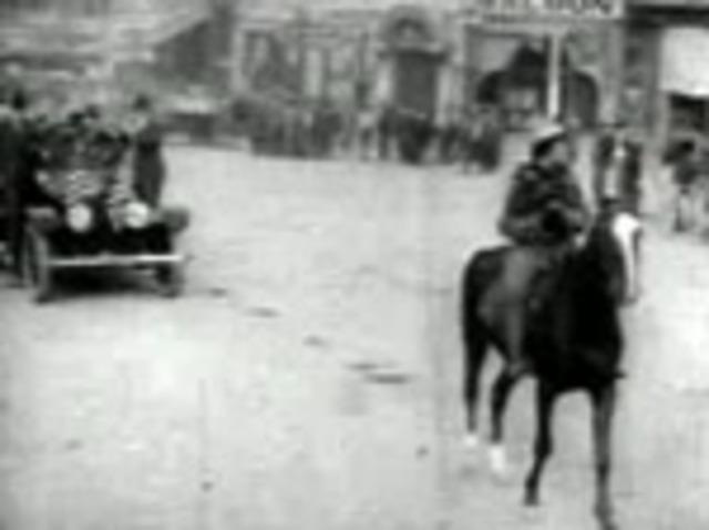 Theodore Roosevelt Visits Albuquerque
