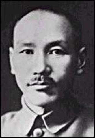Chiang Kai-Shek born
