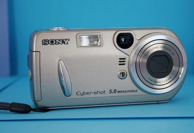 Mi primera cámara de fotos.