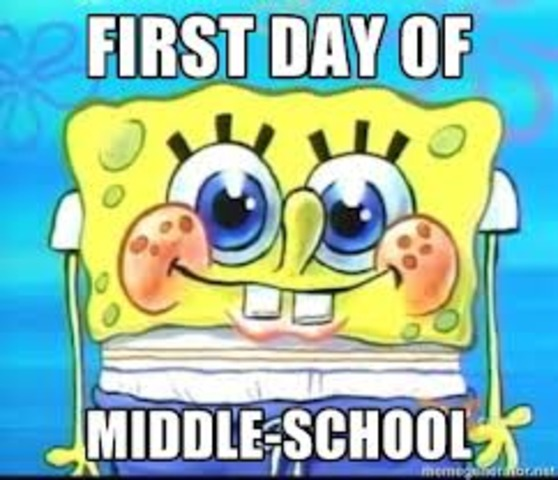 Started Middle School