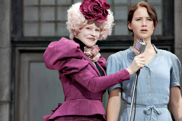 Katniss wont let her younger sister be tribute and volunteers as tribute