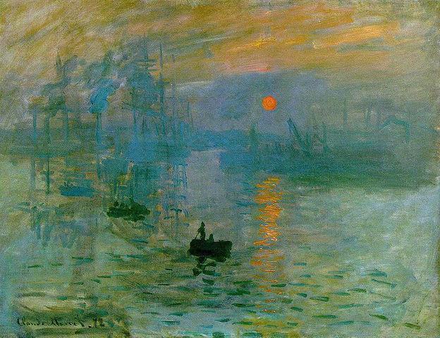 'Impression, Sunrise' - Claude Monet
