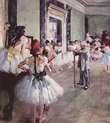 'The Dance Class' - Edgar Degas