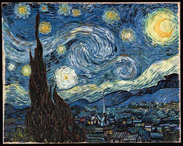 'The Starry Night' - Vincent Van Gogh