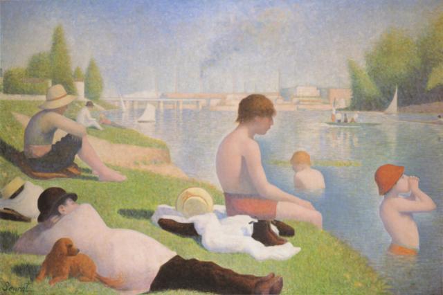 'Bathers at Asnières' - Georges Pierre Seurat