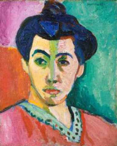 'The Green Stripe' - Henri Matisse