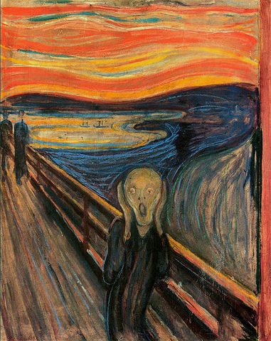 'The Scream' - Edvard Munch