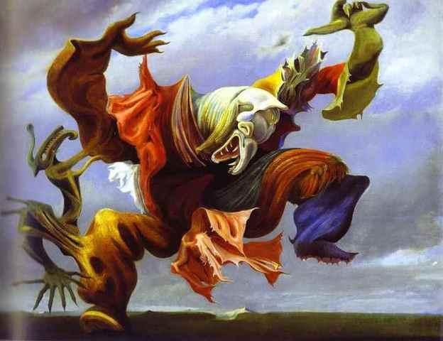 'L'ange Du Foyer' - Max Ernst