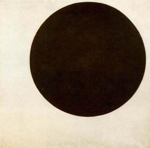 'Black Circle' - Kazimir Malevich