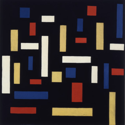 'Compostition VII (The Three Graces)' - Theo van Doesburg