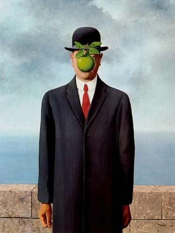 'The Son of Man' - René Magritte